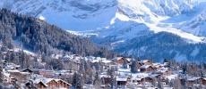 Швейцарский горнолыжный курорт Виллар